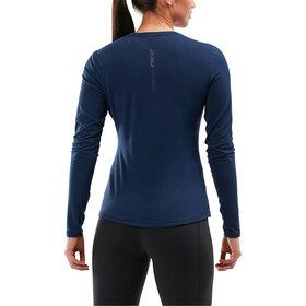 2XU Heat LS Shirt Women, navy